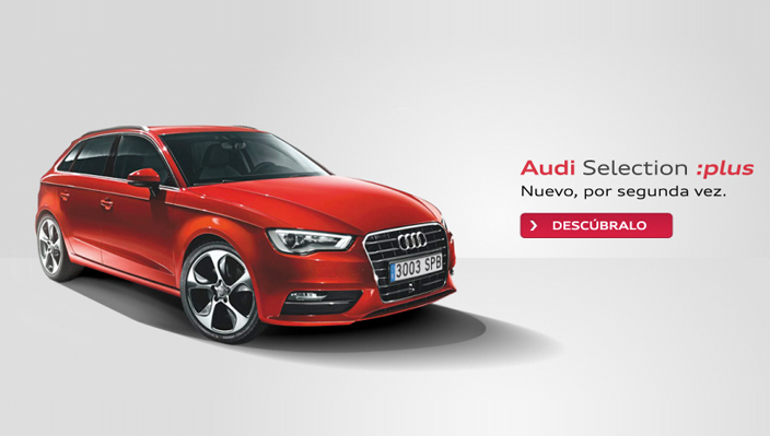 vehículos Audi Selection :plus